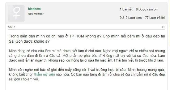 Em đang muốn đi thẩm mỹ mắt, bấm mí ở đâu đẹp Sài Gòn các chị ơi? 4