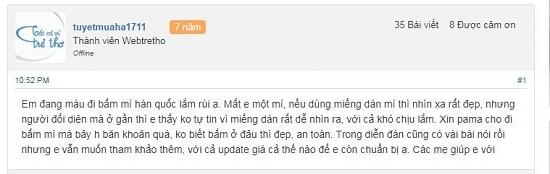Bấm mí ở đâu đẹp Sài Gòn? REVIEW thực tế địa chỉ uy tín qua 5 tiêu chí 5