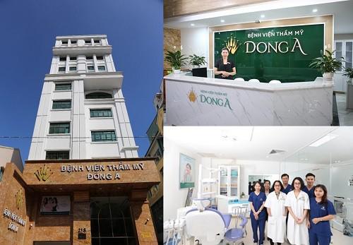 Bệnh viện Thẩm mỹ Đông Á - đơn vị thẩm mỹ mắt hàng đầu VIỆT NAM 2