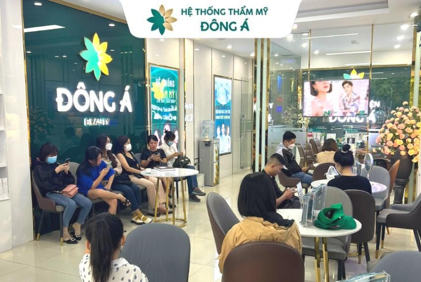 Bệnh viện thẩm mỹ Đông Á với hệ thống chuỗi thẩm mỹ lớn nhất cả nước 6
