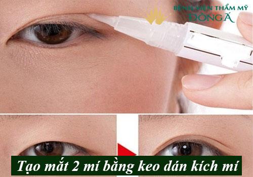 7 Cách có mắt 2 mí tự nhiên To Đẹp - Đơn giản - An toàn tại nhà 2