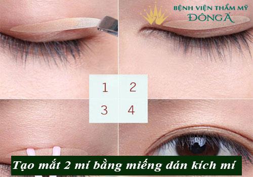 7 Cách có mắt 2 mí tự nhiên To Đẹp - Đơn giản - An toàn tại nhà 3