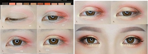 3 Cách đánh mí mắt đẹp cực đơn giản - mắt bật tông đẹp lonh lanh 2