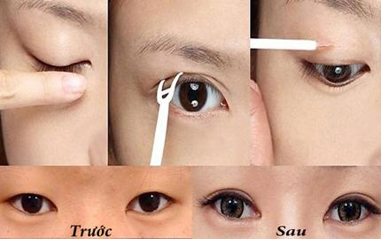4 cách làm mắt 2 mí tại nhà đơn giản - Đâu là cách giúp mắt to tròn số 1 1