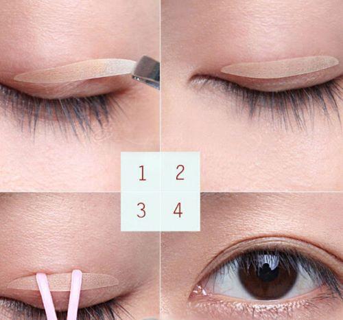5 Cách tạo mí mắt Đơn Giản - Hiệu Quả giúp đôi mắt to tròn & quyến rũ 3