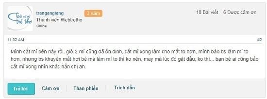 Cắt mí tại Đông Á có tốt không lắng nghe từ người trong cuộc