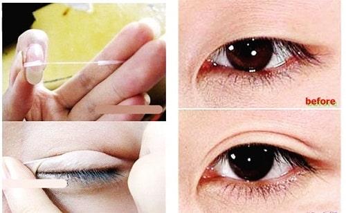 3 cách làm mắt 1 mí thành 2 mí đơn giản giúp mắt to đẹp tự nhiên cân đối 2