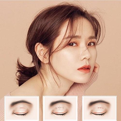 3 cách làm mắt 1 mí thành 2 mí đơn giản giúp mắt to đẹp tự nhiên cân đối 4