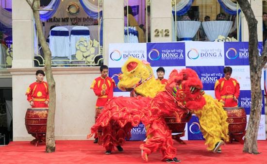 Toàn cảnh lễ khai trương Đông Á Beauty cơ sở 212 Kim Mã- Hà Nội 2