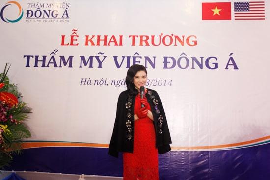 Toàn cảnh lễ khai trương Đông Á Beauty cơ sở 212 Kim Mã- Hà Nội 6